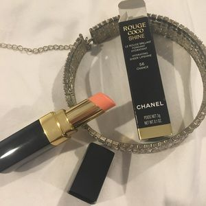 Chanel Rouge Coco Shine Lipstick in Chance